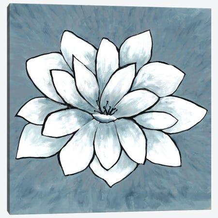 Blue Sprout I Canvas Print #DRI7} by Doris Charest Canvas Art