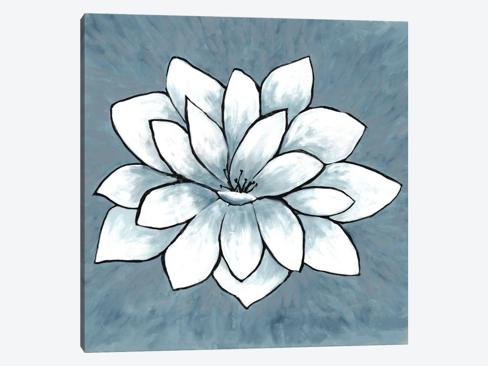 Blue Sprout I by Doris Charest 1-piece Art Print