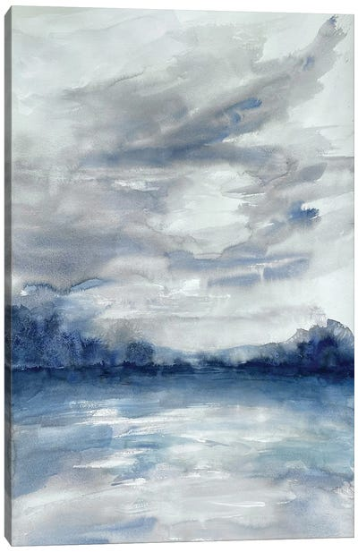 Stormy Shores I Canvas Art Print