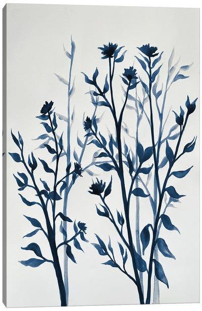 Blue Hue Inspiration II Canvas Art Print