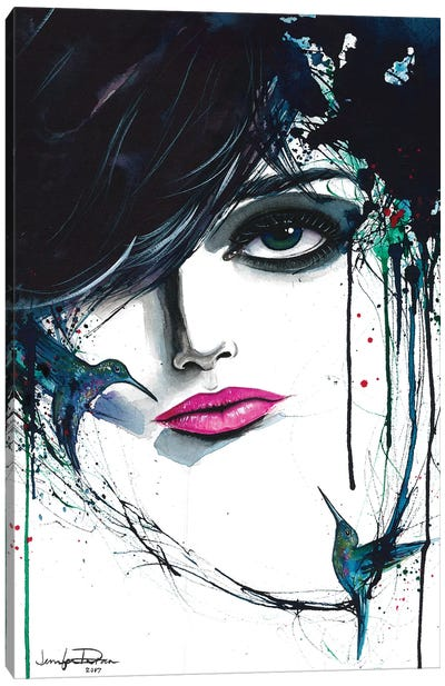 Desire Canvas Art Print