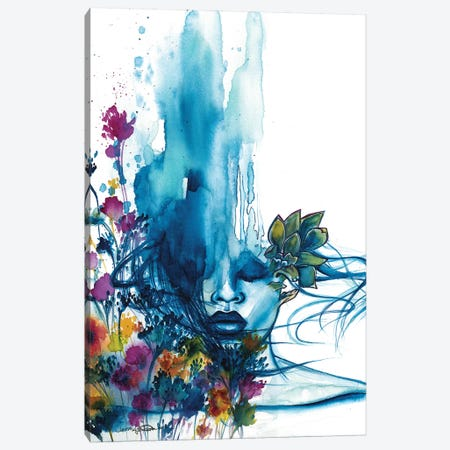 Fantasize 3-Piece Canvas #DRN8} by Jen Duran Canvas Wall Art