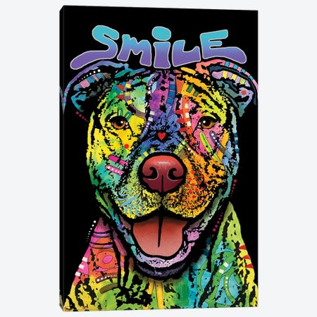 That Smile Canvas Print #DRO1001} by Dean Russo Canvas Wall Art