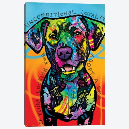 Unconditional Loyalty Canvas Print #DRO1010} by Dean Russo Canvas Print
