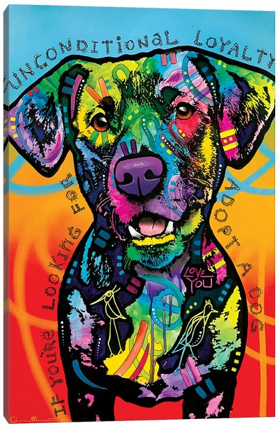 Unconditional Loyalty Canvas Art Print
