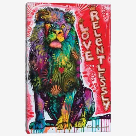 Love Relentlessly Canvas Print #DRO1018} by Dean Russo Canvas Art Print