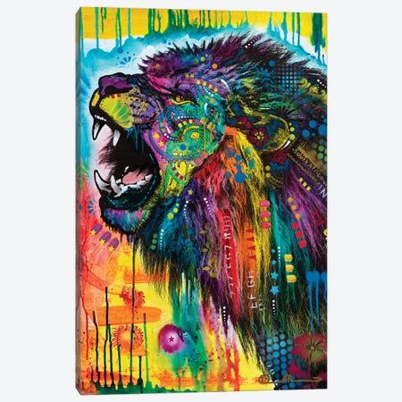 South African Lion Canvas Print #DRO1019} by Dean Russo Canvas Art Print