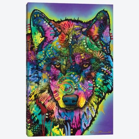 Warf Wolf Canvas Print #DRO1020} by Dean Russo Canvas Artwork