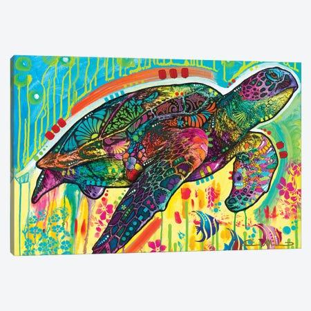 Sea Turtle Canvas Print #DRO1023} by Dean Russo Canvas Art