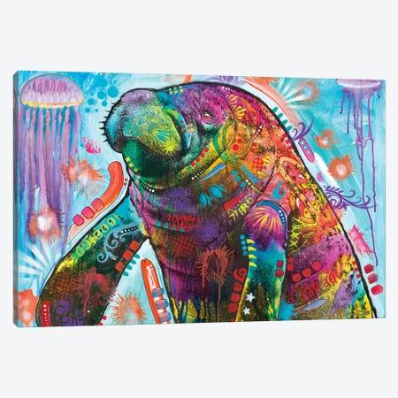 Walrus Canvas Print #DRO1024} by Dean Russo Art Print