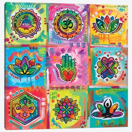 Meditation Squares Canvas Print #DRO1037} by Dean Russo Canvas Artwork