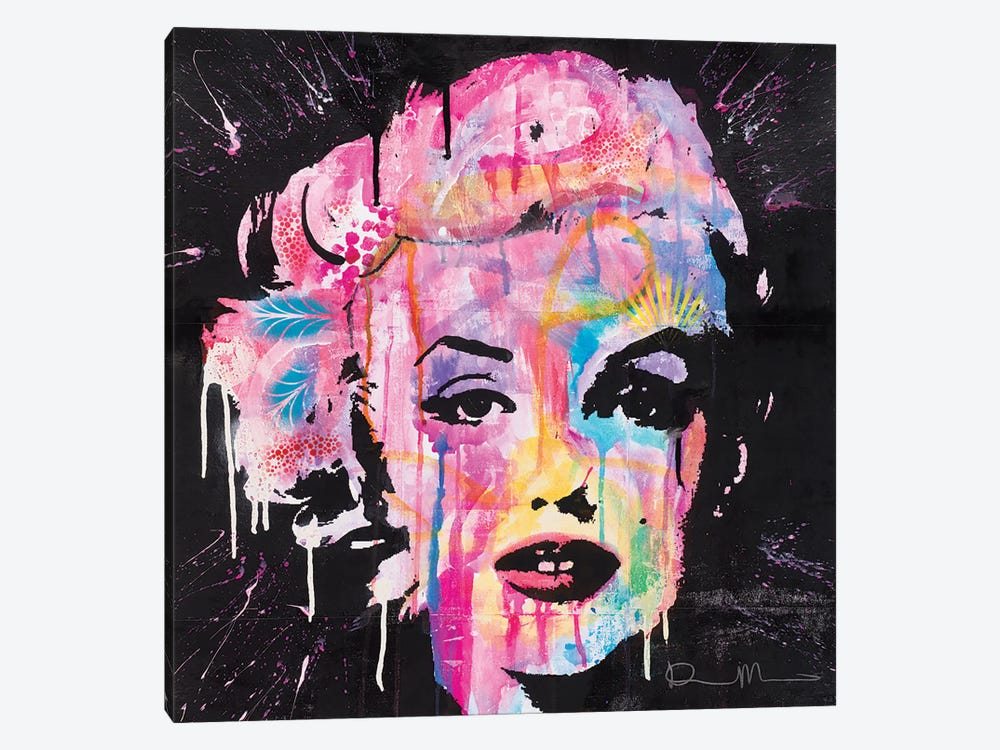 Marilyn Monroe by Dean Russo 1-piece Canvas Print