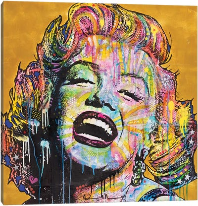 Marilyn I Canvas Art Print