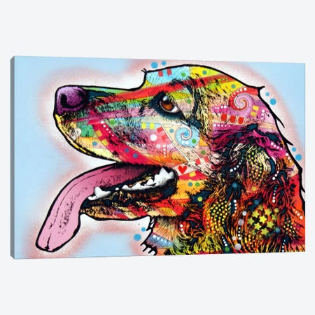 Cocker Spaniel I 3-Piece Canvas #DRO10} by Dean Russo Art Print