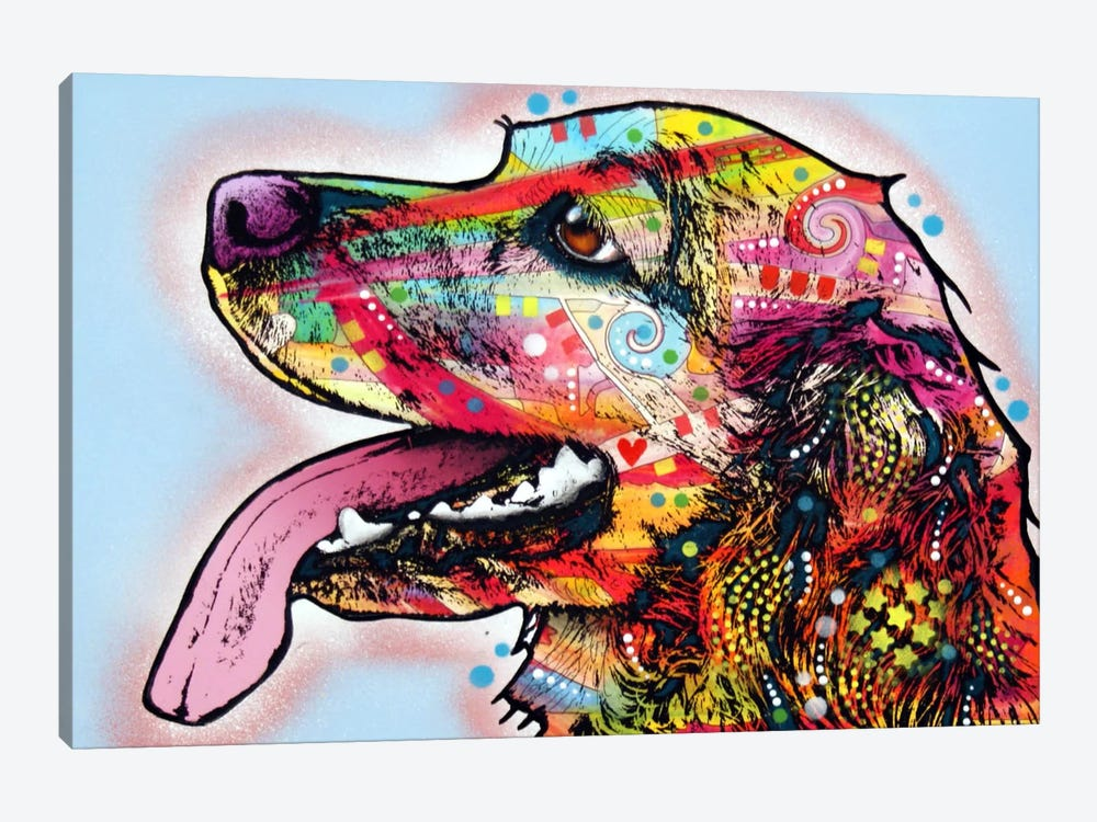 Cocker Spaniel I by Dean Russo 1-piece Canvas Artwork