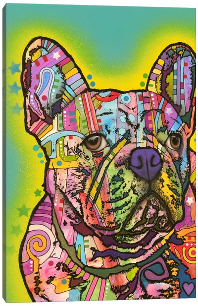 French Bulldog III Canvas Art Print