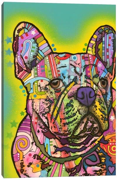 French Bulldog III Canvas Art Print