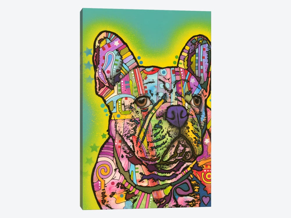 French Bulldog III by Dean Russo 1-piece Canvas Artwork