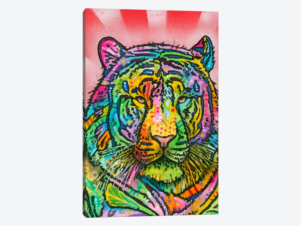 Tiger by Dean Russo 1-piece Canvas Wall Art