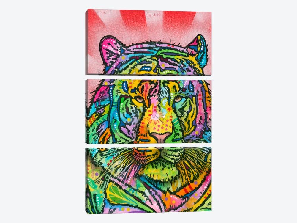 Tiger by Dean Russo 3-piece Canvas Artwork