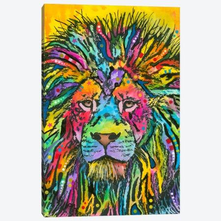 Lion Good Canvas Print #DRO121} by Dean Russo Canvas Art