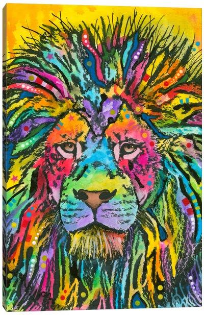 Lion Good Canvas Art Print