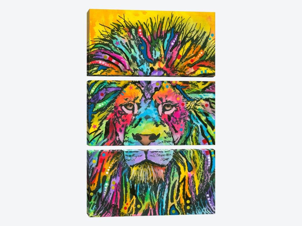 Lion Good by Dean Russo 3-piece Canvas Print