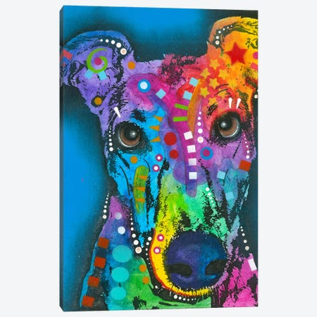 What ya thinking bout? Canvas Print #DRO124} by Dean Russo Canvas Print