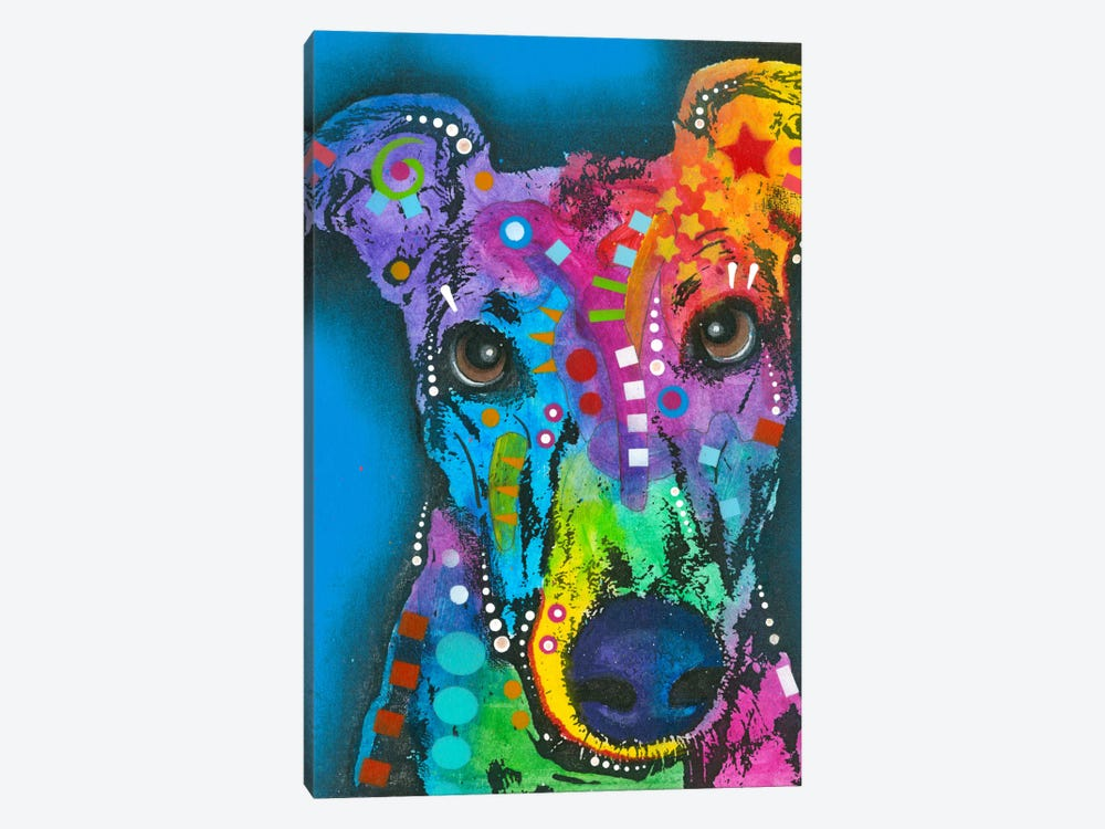 What ya thinking bout? by Dean Russo 1-piece Canvas Wall Art