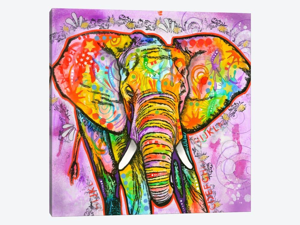 Elephant by Dean Russo 1-piece Canvas Print