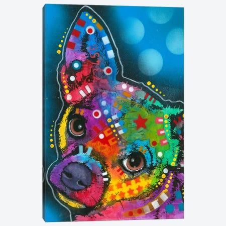 Pop Chihuahua Canvas Print #DRO128} by Dean Russo Canvas Art