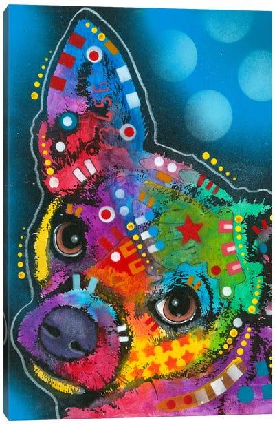 Pop Chihuahua Canvas Art Print