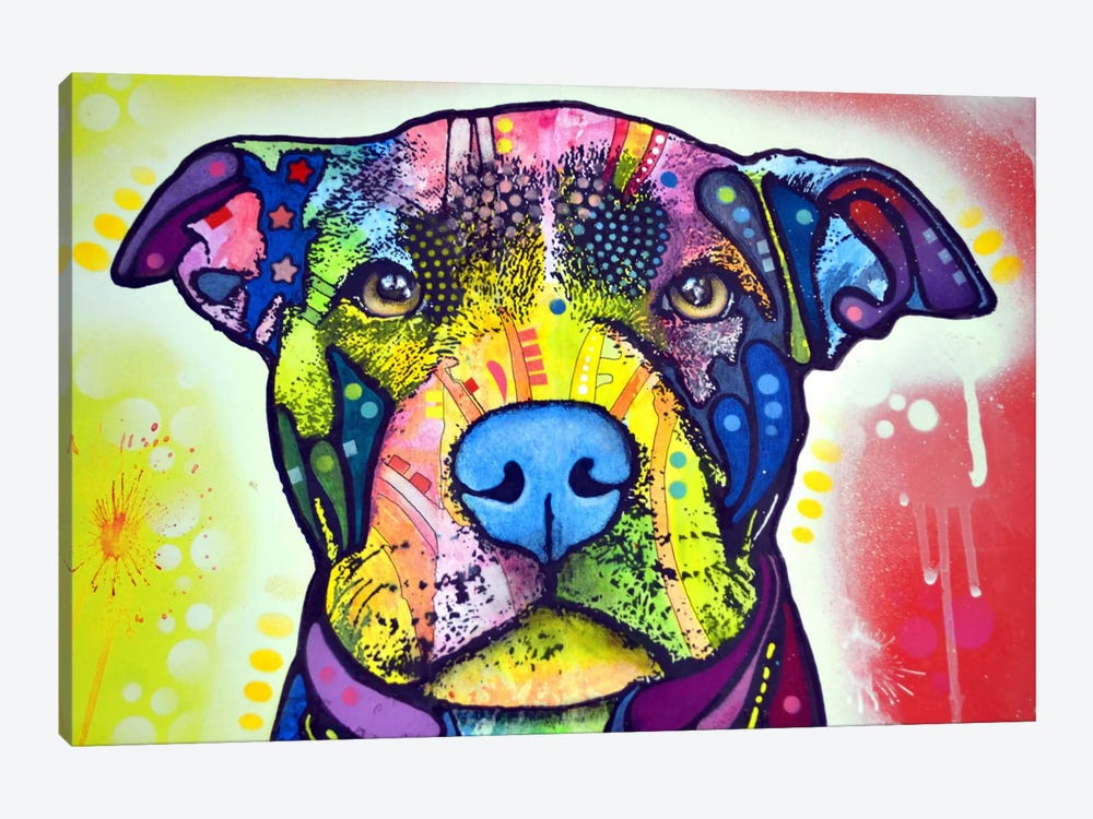 Love A Bull This Years Love by Dean Russo 1-piece Canvas Art
