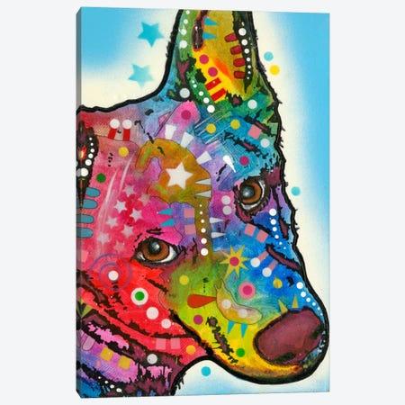 Aussie Sheep Dog Canvas Print #DRO130} by Dean Russo Canvas Print
