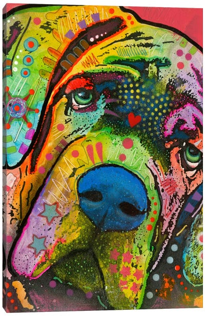 Mastiff Canvas Art Print