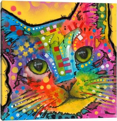 Tilt Cat Canvas Print #DRO135