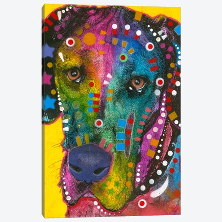 The Beggar Canvas Print #DRO137} by Dean Russo Canvas Art