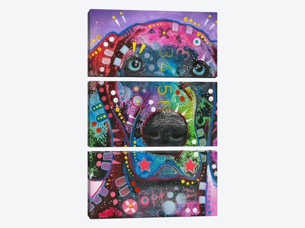 Purple Excitement by Dean Russo 3-piece Art Print
