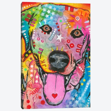 Loving Joy Canvas Print #DRO141} by Dean Russo Canvas Artwork