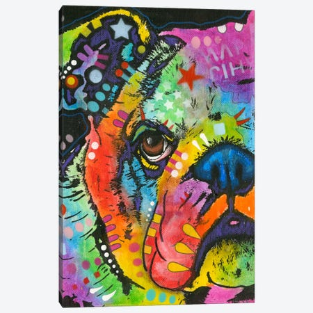 What You Lookin At Canvas Print #DRO146} by Dean Russo Canvas Art Print