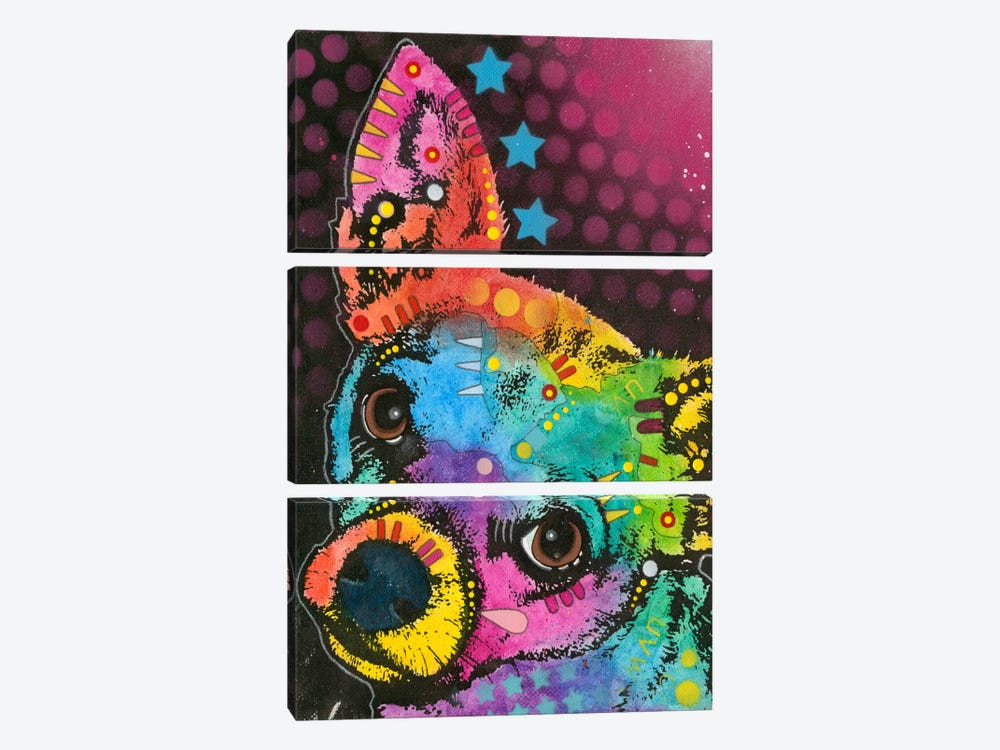 Huh? by Dean Russo 3-piece Canvas Art