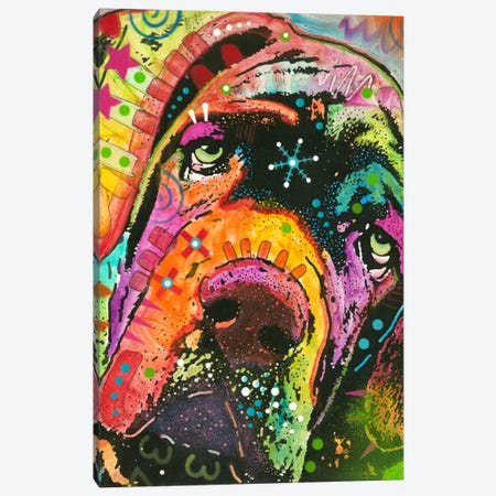 Ol' Droopyface Canvas Print #DRO149} by Dean Russo Canvas Wall Art
