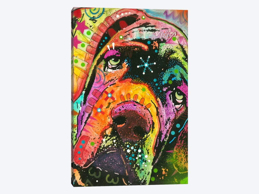 Ol' Droopyface by Dean Russo 1-piece Canvas Print