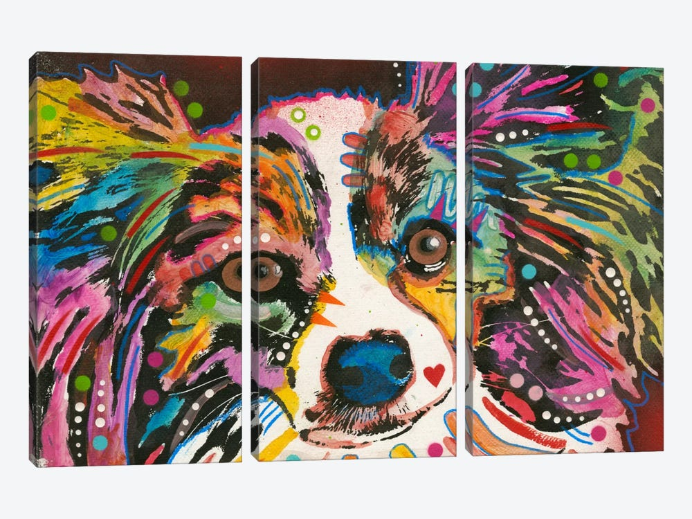 Whazzat by Dean Russo 3-piece Canvas Print