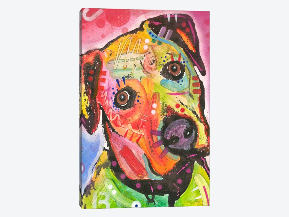 Innocent by Dean Russo 1-piece Canvas Wall Art