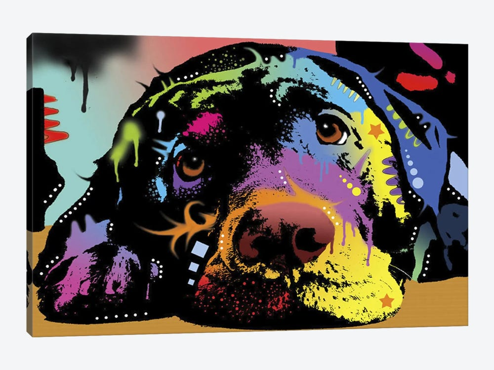 Lying Lab by Dean Russo 1-piece Canvas Art