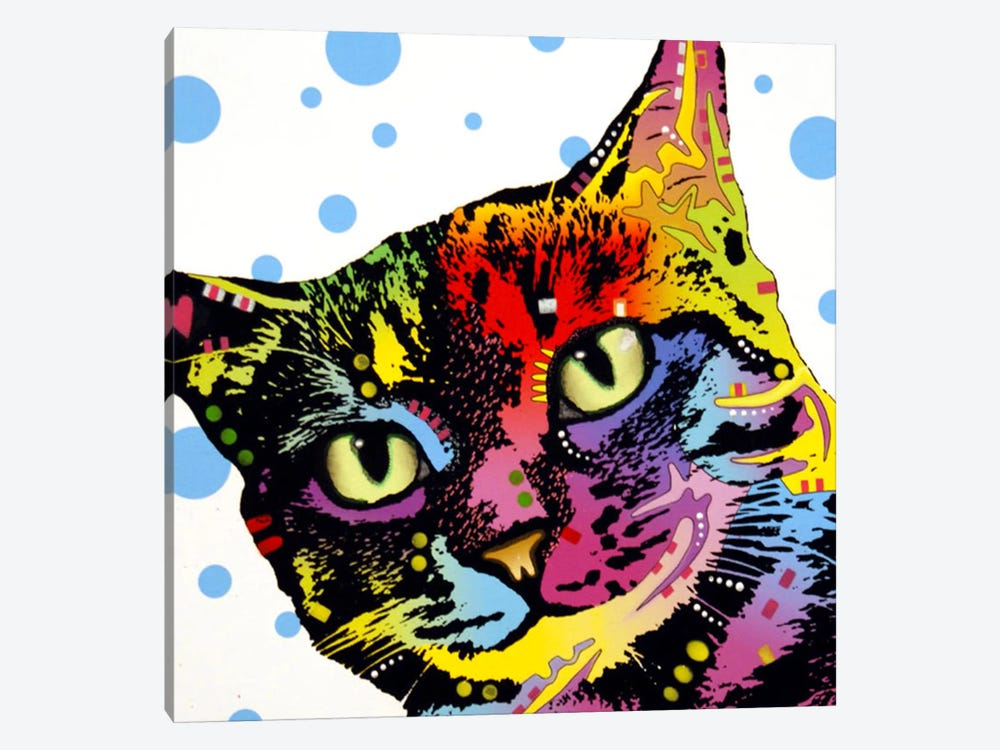 The Pop Cat by Dean Russo 1-piece Canvas Print