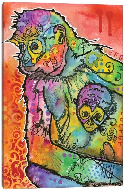 Monkey I Canvas Print #DRO157