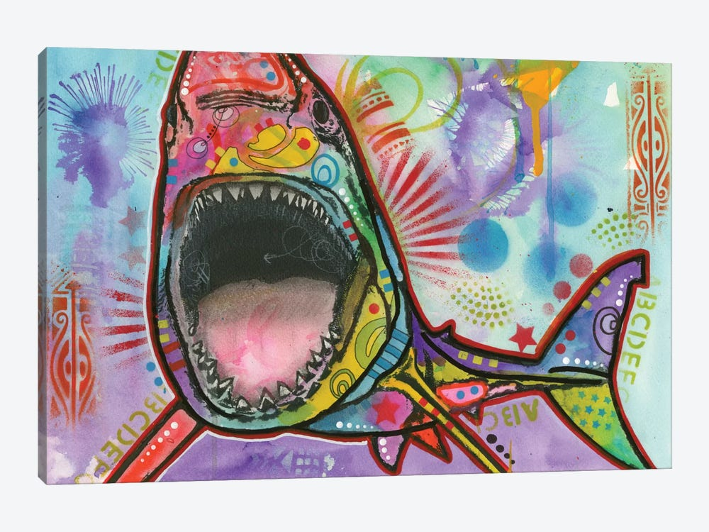 Shark I by Dean Russo 1-piece Canvas Print