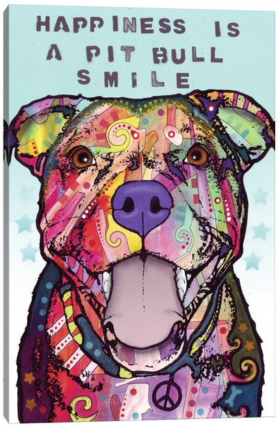 Smile Canvas Print #DRO160